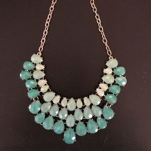 Chunky Teal necklace
